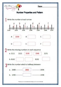 Number Properties and Pattern