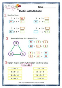 grade  maths complete worksheets  lets share knowledge grade  maths worksheets division and multiplication