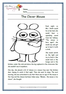 the clever mouse grade 1 comprehension
