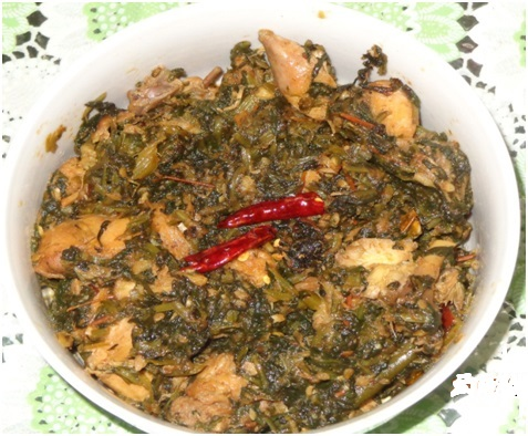 Recipe: Spinach Chicken
