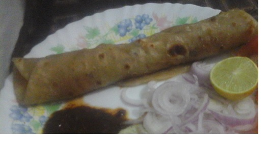 Recipe: Spicy Paratha Roll