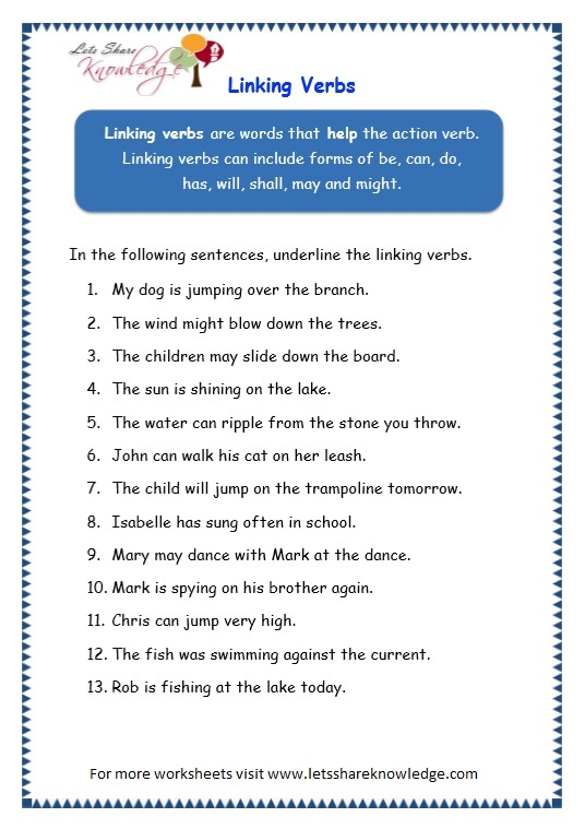 Grade 3 Grammar Topic 14 Helping Verbs Worksheets Lets Share. Page 2 Helping Verbs Worksheet. Worksheet. Have Has Worksheets At Mspartners.co