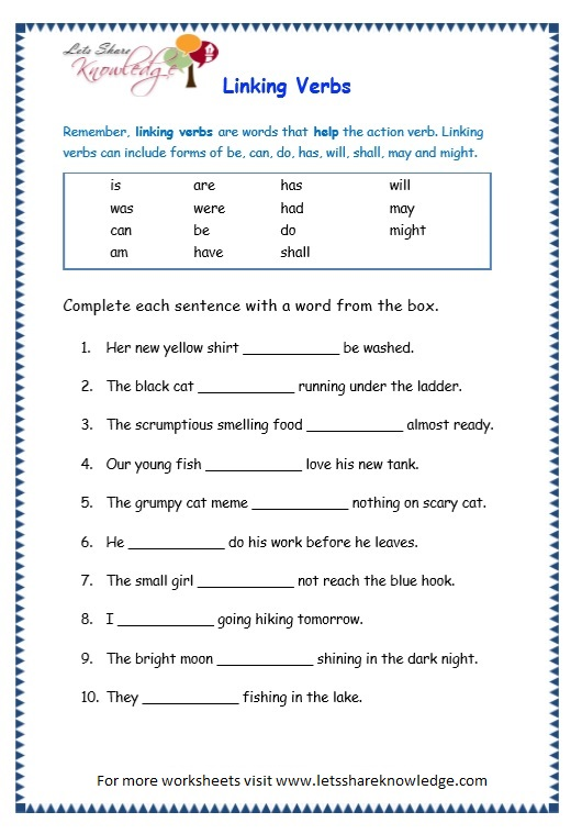 Homework help verbs main and helping