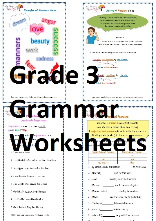 grade 3 english grammar worksheets lets share knowledge. Black Bedroom Furniture Sets. Home Design Ideas