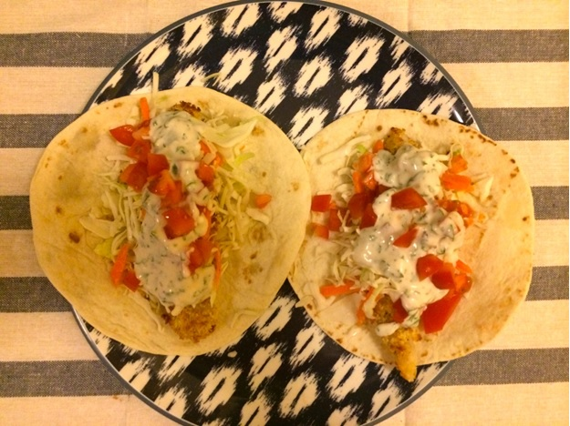 Recipe: Crispy Baked Fish Tacos