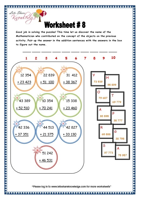 Pre School Worksheets : addition 3 digit numbers without ...
