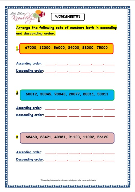 ordering 3 digit numbers by LBaggley - Teaching Resources - Tes