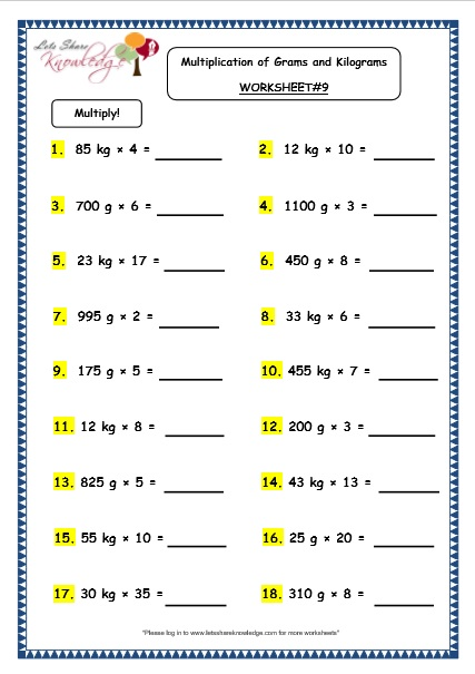 order of operations worksheets and answers