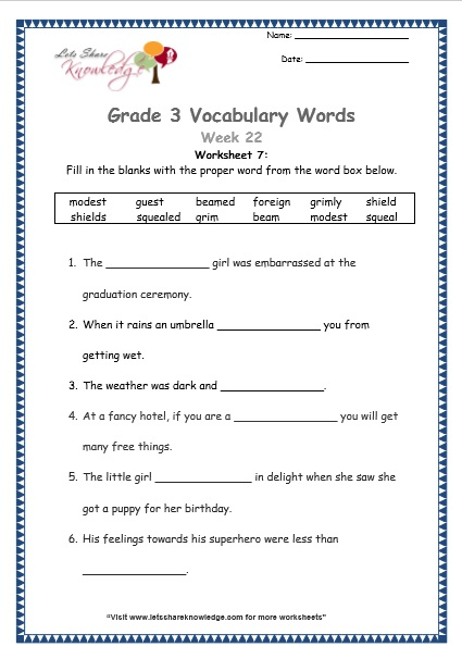 Vocabulary context clues worksheets 2nd grade