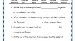 grade 3 vocabulary week 23 worksheet 7 beware, naturally, crumble, crush, howl, split, jackal