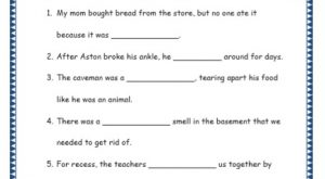 Grade 4: Vocabulary Worksheets Week 15