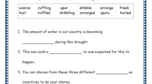 Grade 4: Vocabulary Worksheets Week 46