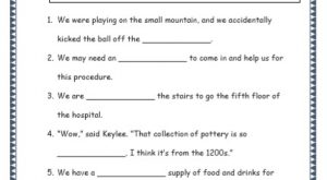 Grade 4: Vocabulary Worksheets Week 51