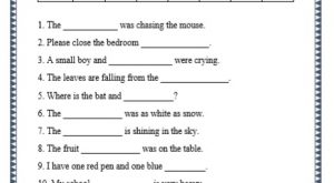 grade 1 nouns grammar printable worksheet